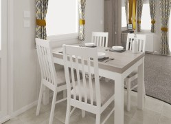 Bedruthan holiday home dining table