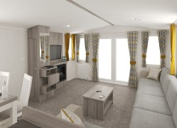 Bedruthan holiday home living room