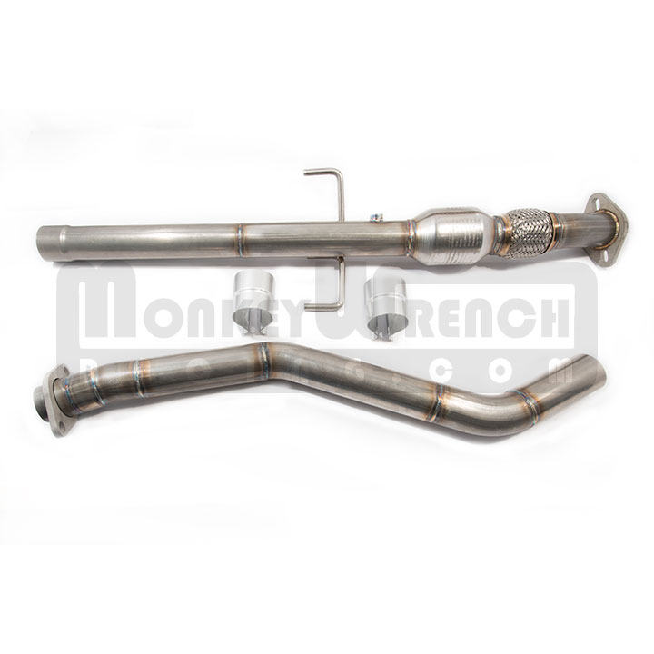 ppe midpipe toyota celica stainless steel with cat