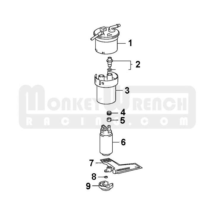 Toyota OEM Fuel Pump Sock (prefilter)-Lotus Elise Exige