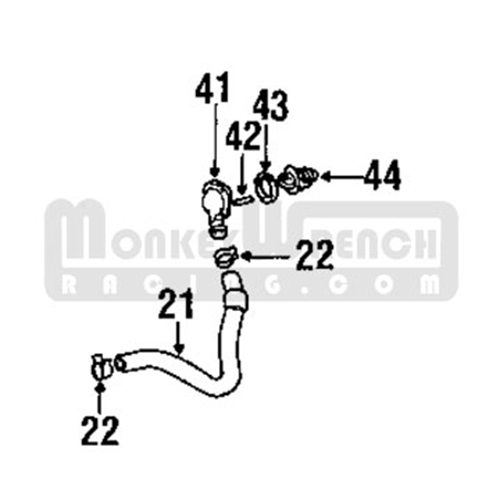 Toyota OEM Thermostat Housing