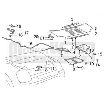 Toyota OEM Antenna Mast – 2000-05 MR2 Spyder
