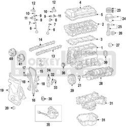 Toyota OEM Camshaft Sprocket VVT Actuator