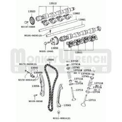 Toyota OEM Camshaft Cover (valve cover)