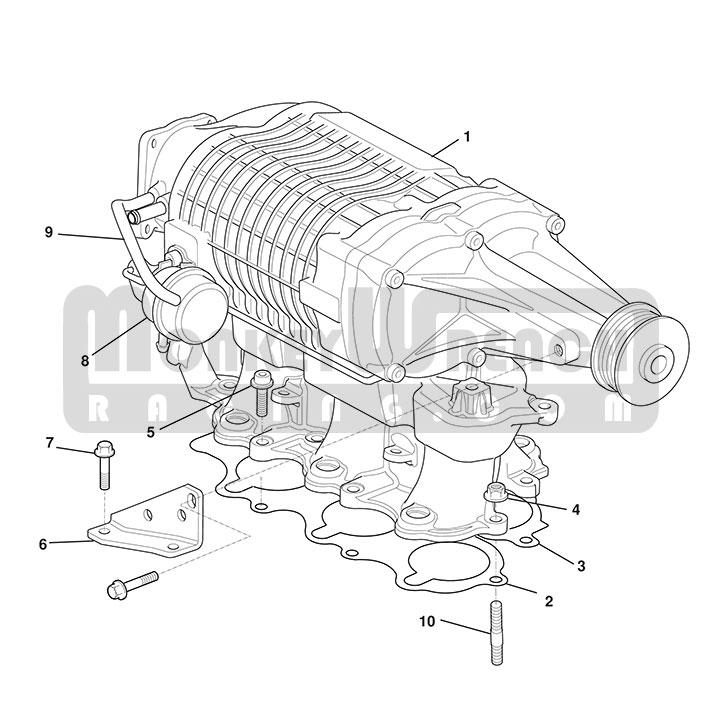 Lotus OEM Supercharger Actuator