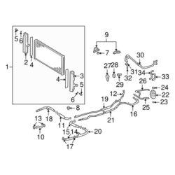 Toyota OEM Cooling (Radiator) Hose