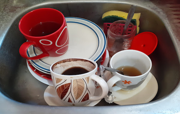 Done any washing-up recently?   The Melting Pot Newsletter   #93