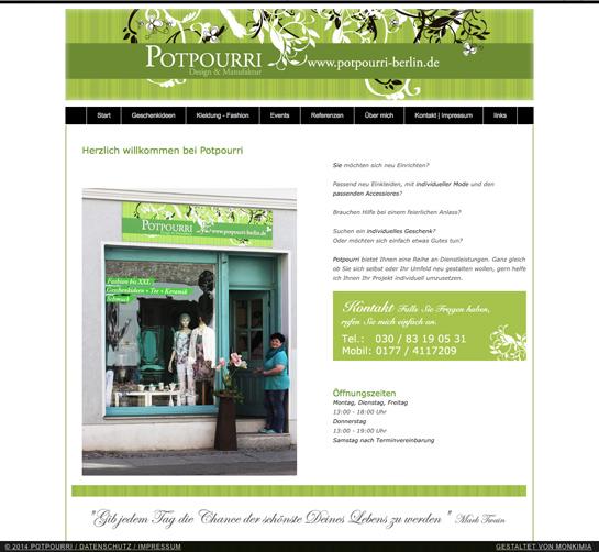 Potpourri Design und Manufaktur Berlin