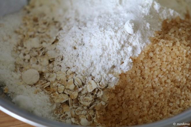 vegane haferflocken-apfel-kekse-rezept