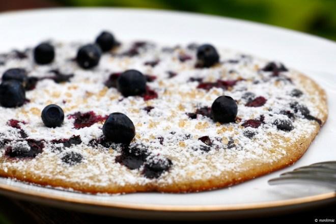 Blaubeeren Pfannkuchen Rezept