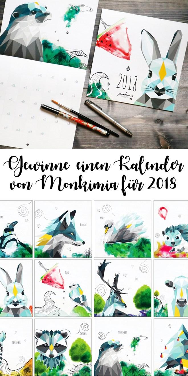 Kalender Monkimia Gewinnspiel