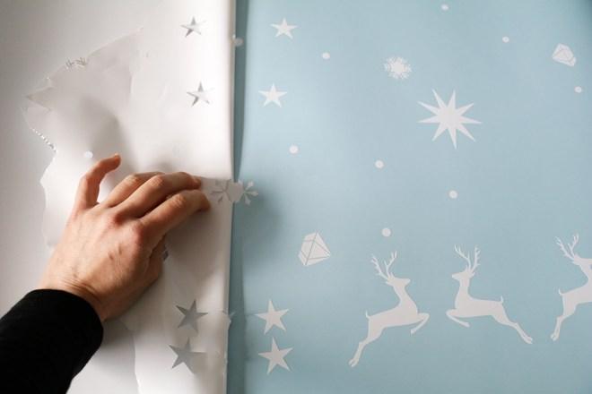 Fensterdekoration Aufkleber Monkimia Weihnachtsdeko
