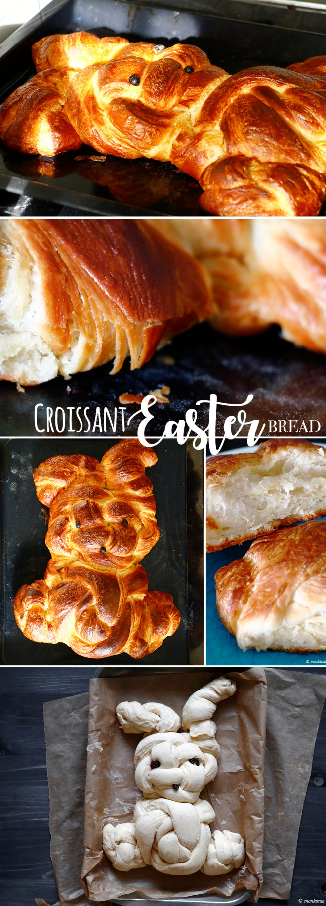 Croissant easter bread recipe