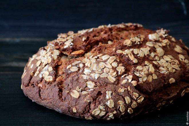 Möhren Roggen Brot