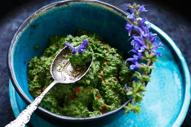 Pesto Giersch Brennnesseln
