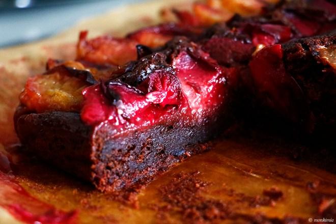 Rote Beete Pflaumenkuchen