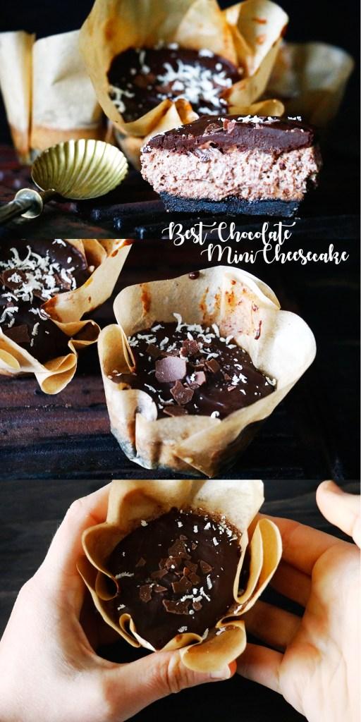 Schokoladen Mini Käsekuchen