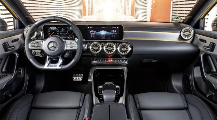 AMG A35 Interior