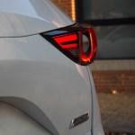 Las ópticas traseras son una de las partes más atractivas en el diseño del Mazda