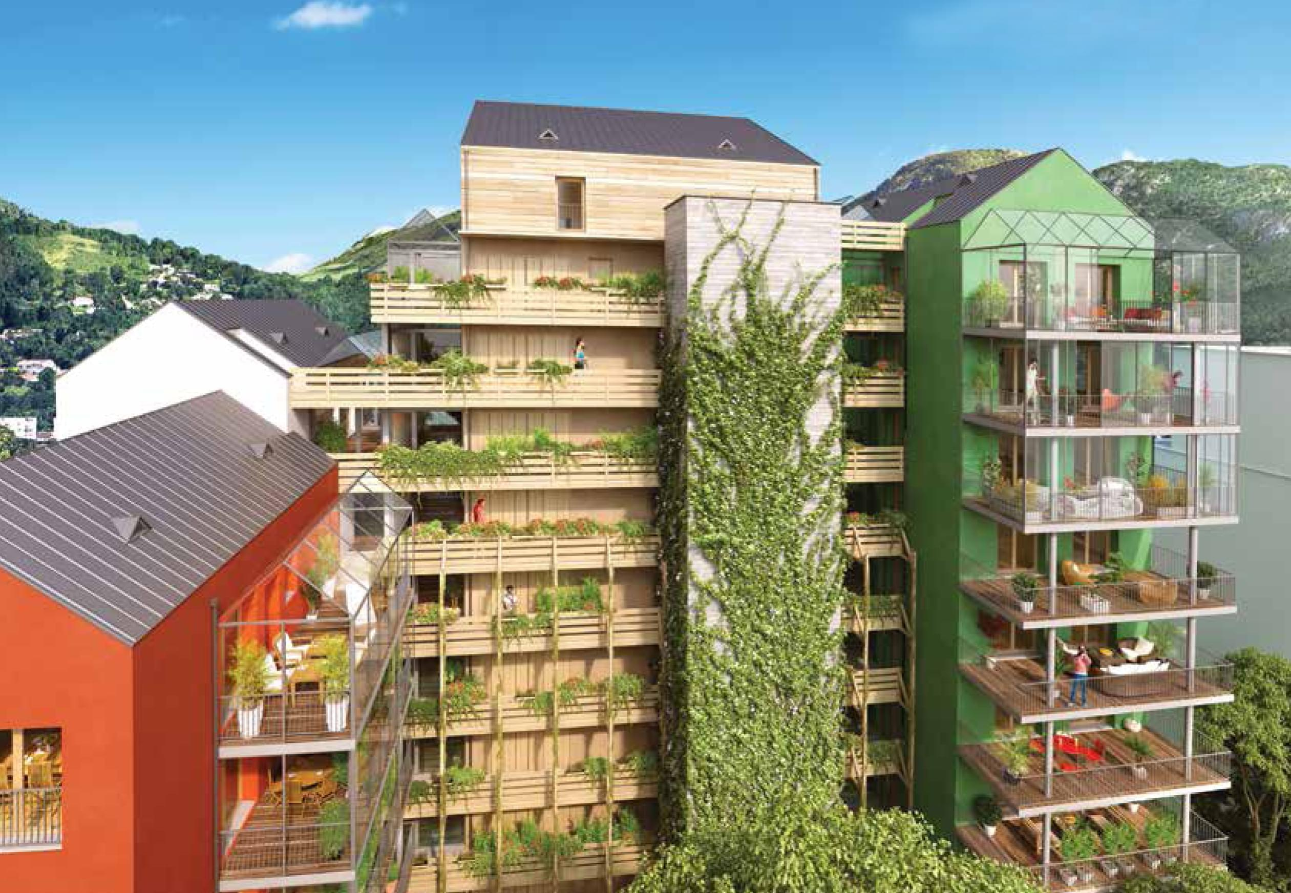 Programme immobilier neuf Grenoble  Le Up