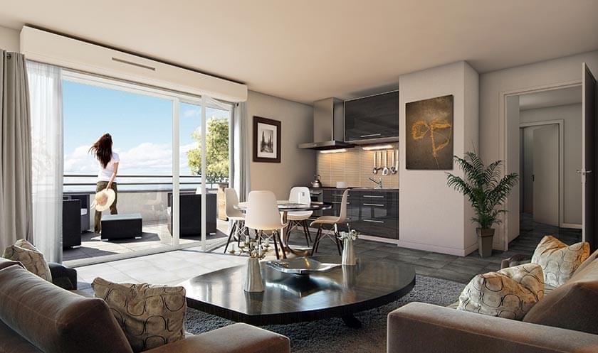 COSY LODGE  31 appartements neufs  Feyzin Village