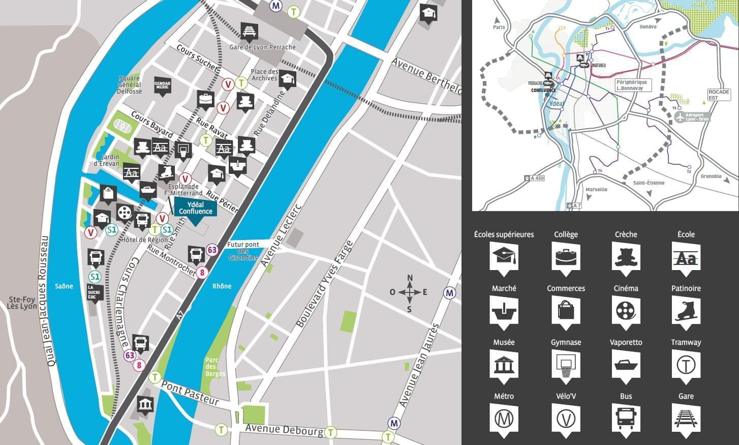 Acheter un appartement BBC neuf  Lyon 2 avec notre nouveau projet Ydal Confluence