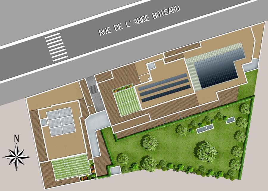 Vente Appartement Lyon 69003  Acte 3 appartement BBC Lyon