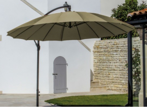parasols et ombrage jardinerie