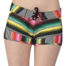 Bench Boardshorts Adore Piece Out – Short Femme, Multicolore (Flame) – XS (Taille fabricant: XS)