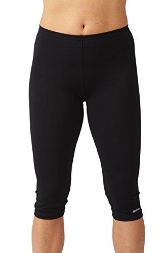 bohn swimwear leggings de bain 3 4 femme bleu fonc ou noir fr 52 uk 24 noir mon. Black Bedroom Furniture Sets. Home Design Ideas