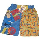 Fireman Sam – Short de bain – Garçon yellow & blue