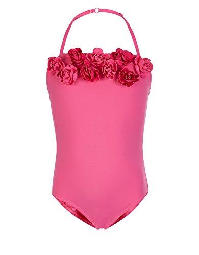 Monsoon filles maillot de bain orn de roses taille 9 10 for Monsoon de