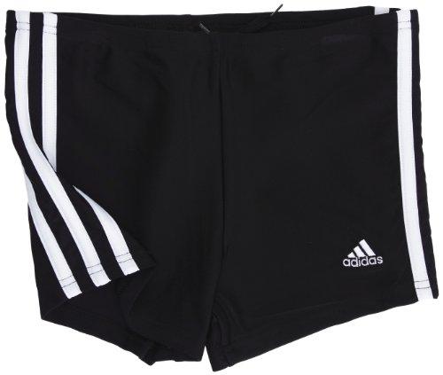 ba208e153c37d ... Maillots de bain Garçon   adidas Infinitex 3 stripes authentic Boxer ,  Natation Garçon Noir Blanc 8 ans. New