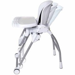 Evenflo Modern Kitchen High Chair Crochet Arm Covers For Chairs White Monmartt Product Id 2780