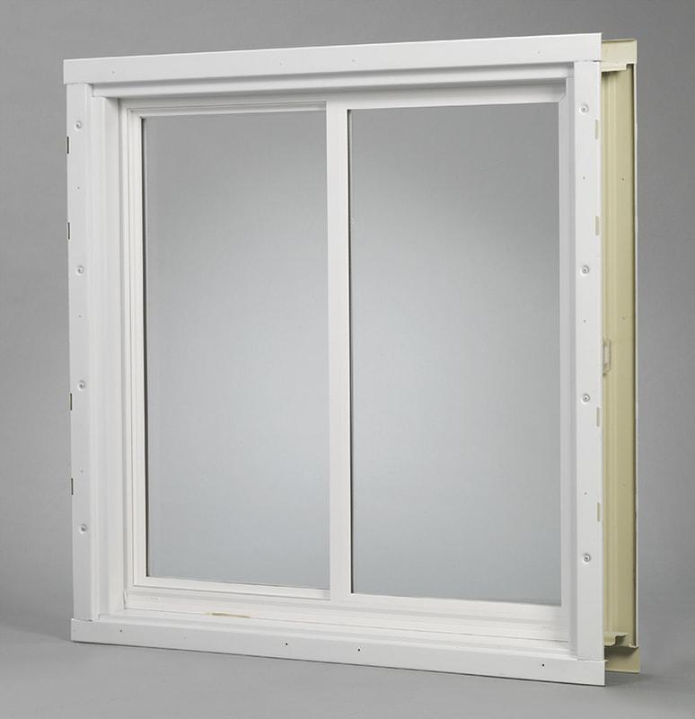 Basement Window Metal Frame