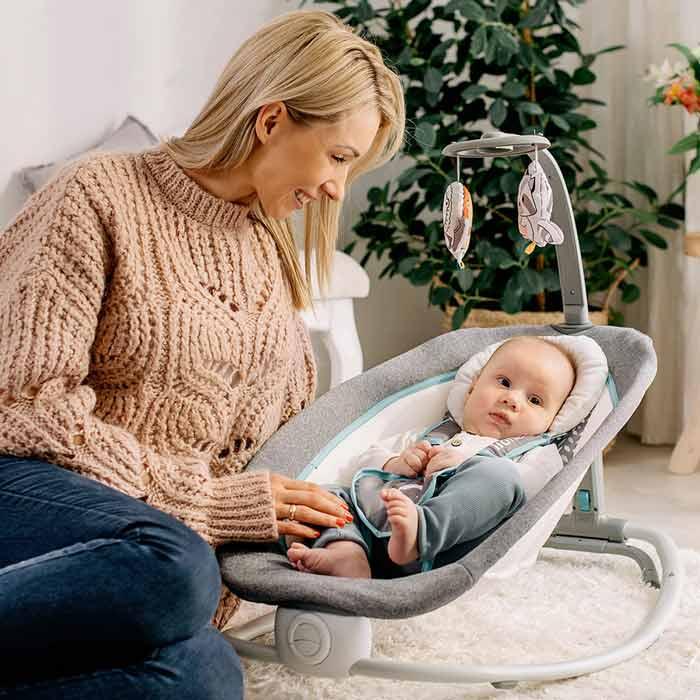 transat vibrant et pliable pour bebe
