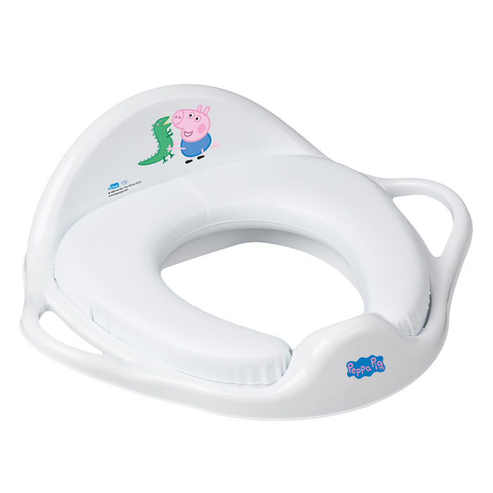 reducteur de toilettes rose peppa pig