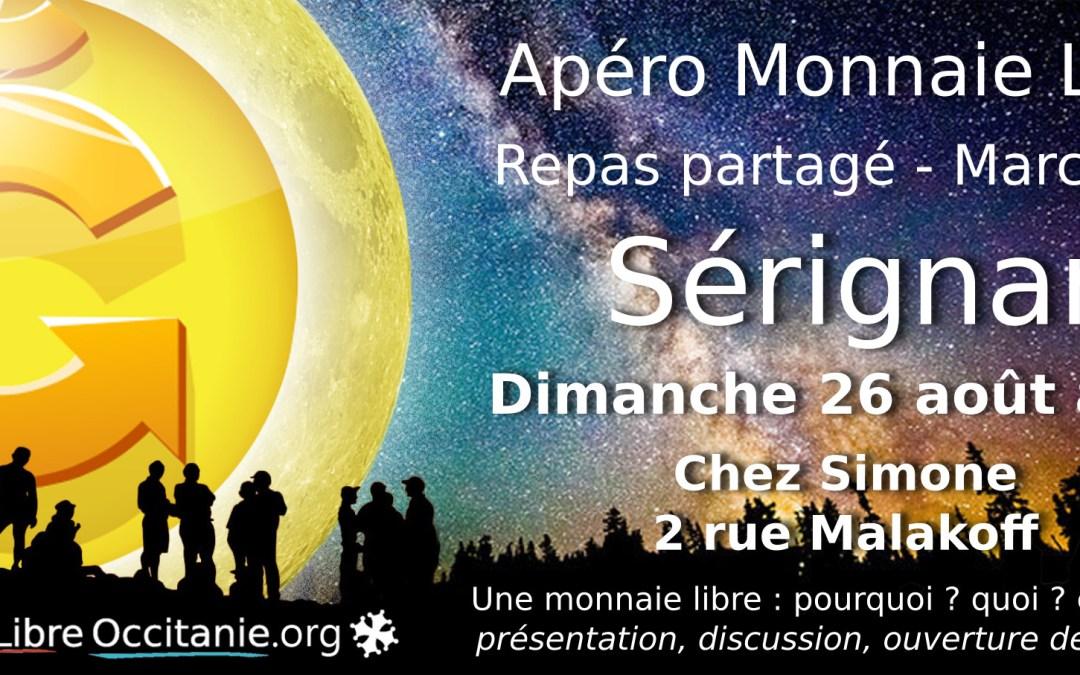 Apéro Monnaie Libre à Sérignan (34)