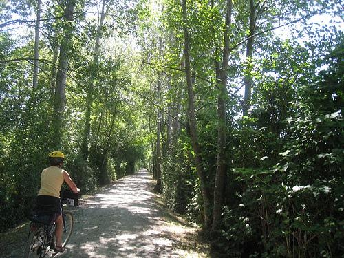 Bicycling Deas Island Regional Park