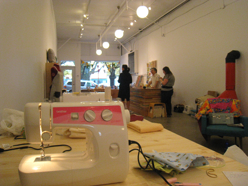 My sewing machine at Spool of Thread