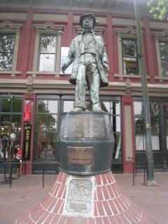 Gassy Jack in Historic Gastown