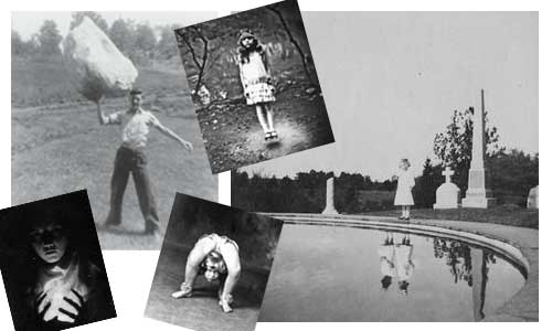 Vintage photographs from Miss Peregrine's Home for Peculiar Children