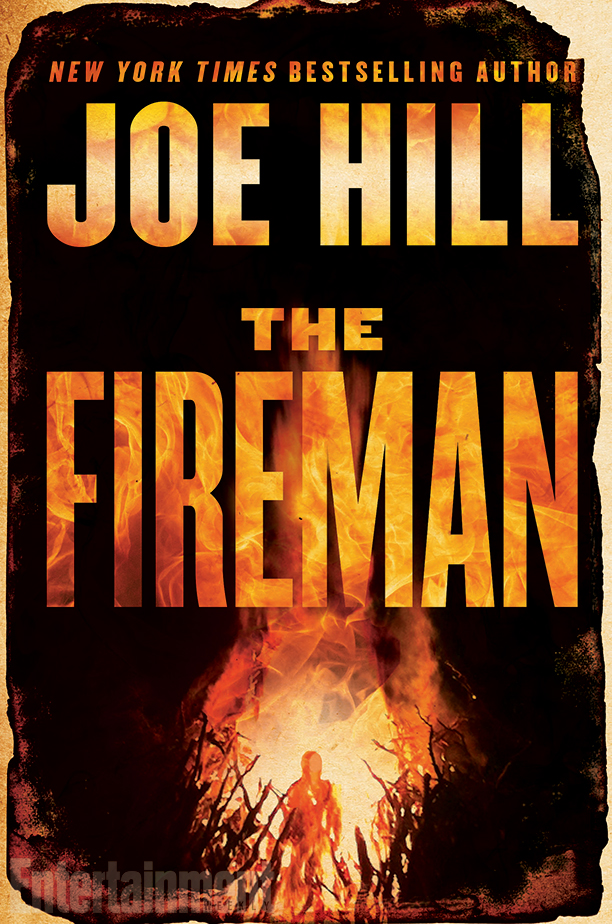 Book cover of The Fireman by Joe Hill