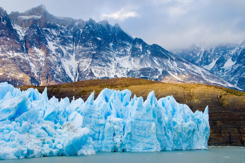 glacier et montagne patagonie