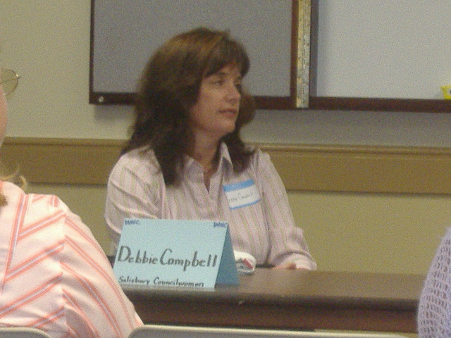 Debbie Campbell, arguably the key force behind the WNC.