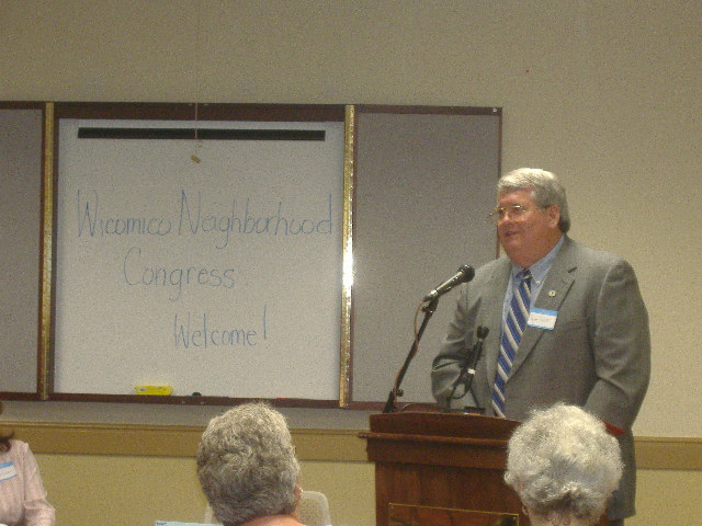 County Executive Rick Pollitt was our keynote speaker.