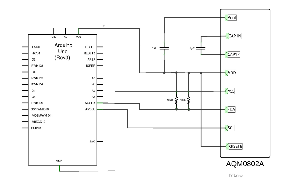 medium resolution of sitronix st7032 arduino 101