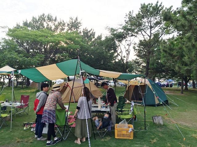 赤穂海浜公園オートキャンプ場 兵庫県のきれいなキャンプ場