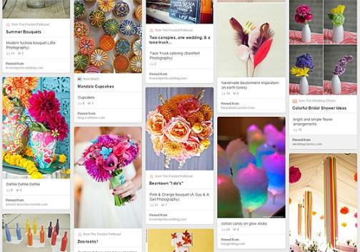 Pinterest Screengrab Autumn Brights
