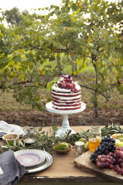 Rustic Cake from Pottery Barn